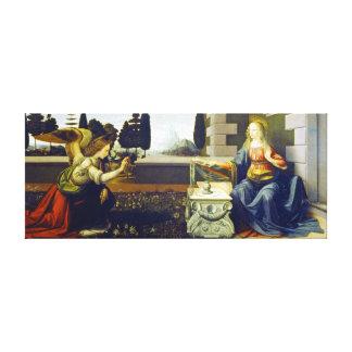 Lienzo Anuncio de Leonardo da Vinci
