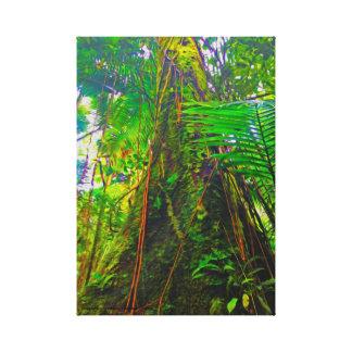 Lienzo Árbol de la selva