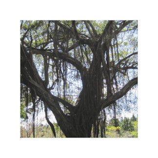 Lienzo Árbol espeluznante