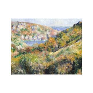 Lienzo Auguste Renoir - colinas alrededor de la bahía