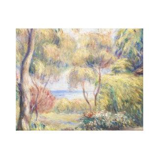 Lienzo Auguste Renoir - Paysage un Cagnes