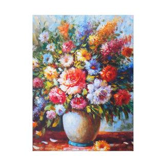 Lienzo Aún flores exquisitas de la vida del Watercolour