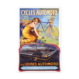 Lienzo Automoto completa un ciclo el poster 1914 de la