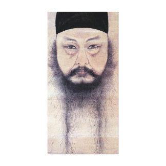 Lienzo Autorretrato del YUN Du-seo