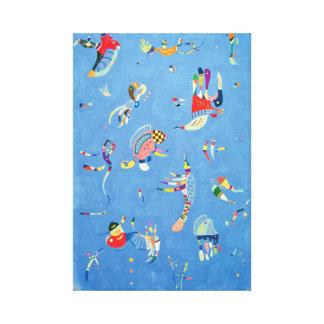 Lienzo Azul de cielo de Wassily Kandinsky