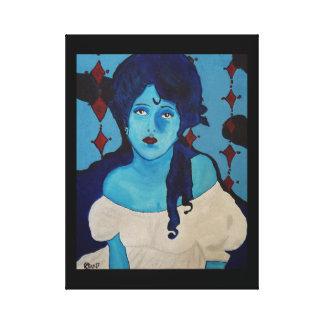 Lienzo Azul de Evelyn
