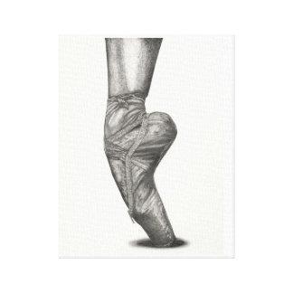 Lienzo Bailarina del En Pointe