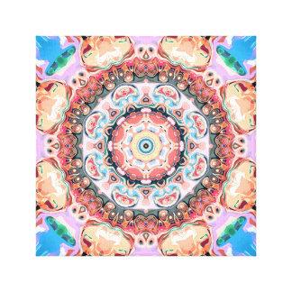 Lienzo Balanza de formas en colores pastel