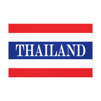 Lienzo Bandera de Tailandia