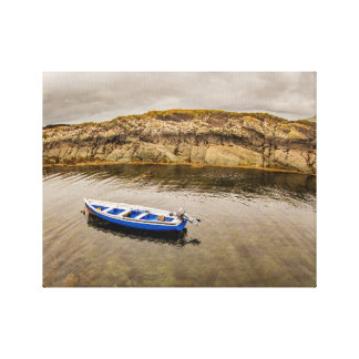 Lienzo Barco de pesca