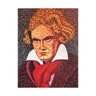 Lienzo Beethoven