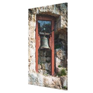 Lienzo Bell en el fuerte de San Miguel, Croacia