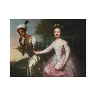 Lienzo Belleza y señora Murray de Dido Elizabeth