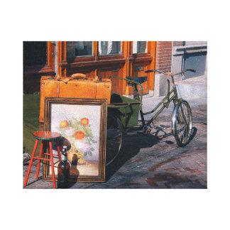"""Lienzo Bici asiática 10""""/25x20 cm x 8"""""""