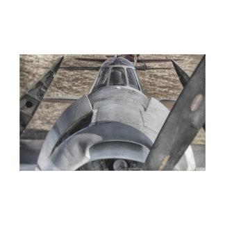 Lienzo Bombardero del torpedo de la marina de guerra de