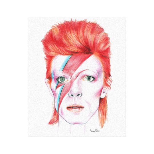 Lienzo Bowie