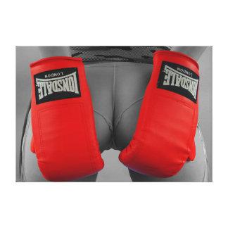 Lienzo Boxeador fresco