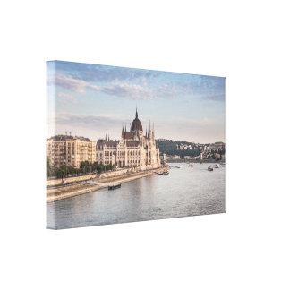 Lienzo Budapest