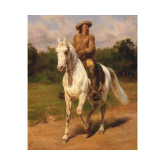 Lienzo Buffalo Bill Cody por Rosa Bonheur