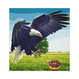 Lienzo Buñuelo de los ataques de Eagle