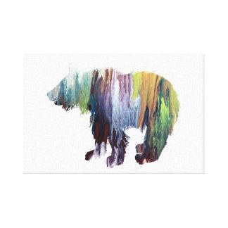 Lienzo Cachorro de oso