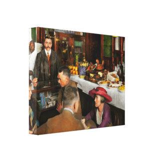 Lienzo Café - tentaciones 1915