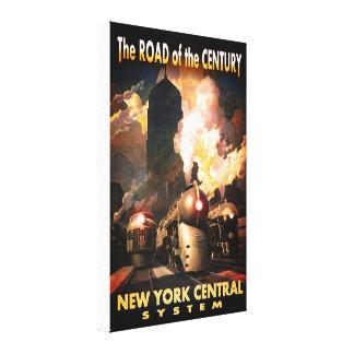 Lienzo Camino de NYC del siglo