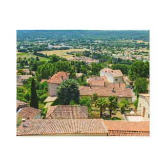 Lienzo Campo francés en la fotografía de Provence