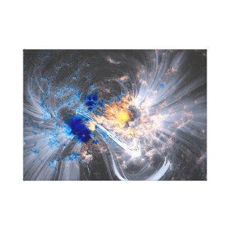 Lienzo Caronal coloca la NASA solar de las llamaradas del