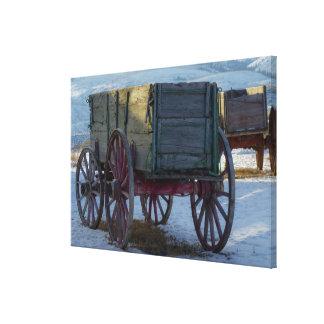 Lienzo Carro viejo
