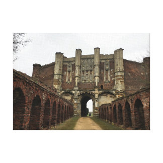 Lienzo Casa de la puerta de la abadía de Thornton -