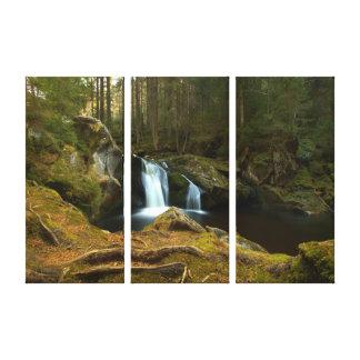 Lienzo Cascada