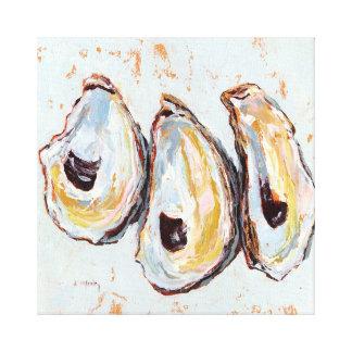 Lienzo Cáscaras de ostra