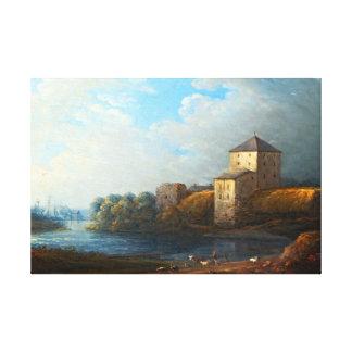 Lienzo Castillo de Carl Johan Fahlcrantz Nyköping
