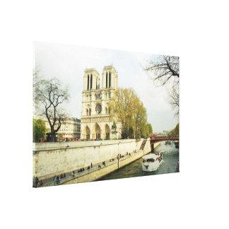 Lienzo Catedral de Notre Dame
