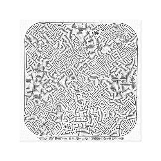 Lienzo Células que parten - una creación de Blaise Gauba