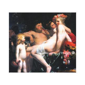 Lienzo César van Everdingen Bacchus y Ariadne