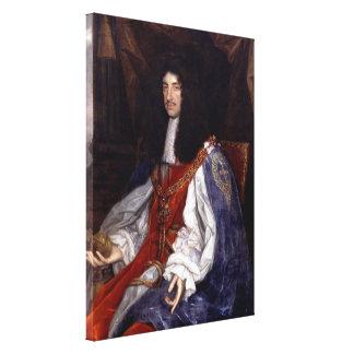 Lienzo Charles II de Gran Bretaña y de Irlanda
