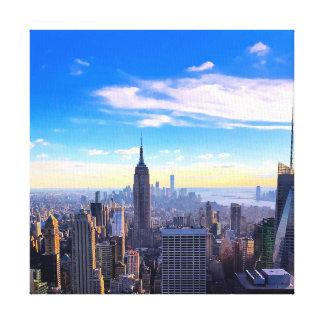 Lienzo Cielo de NYC