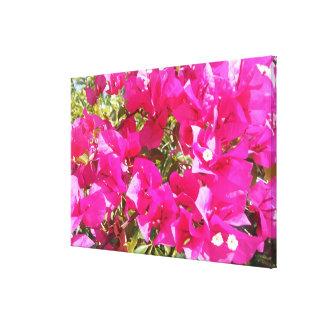 Lienzo Cierre rosado de gran tamaño imponente del