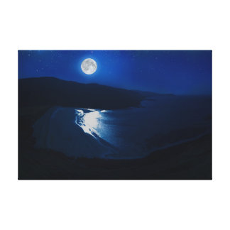 Lienzo Claro de luna-Escocia