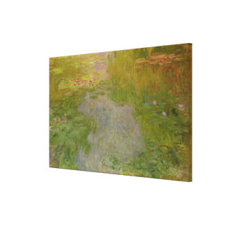 Lienzo Claude Monet el | Waterlilies, c.1919 (aceite en