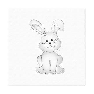 Lienzo Clipart blanco del conejito