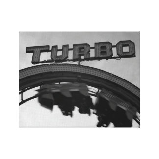 Lienzo Coloque el lazo Turbo