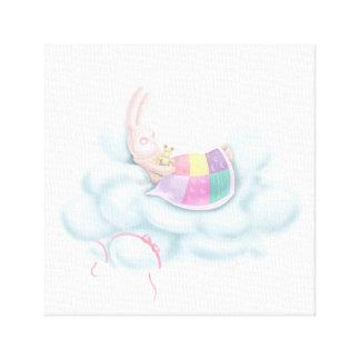 Lienzo Conejito del bebé