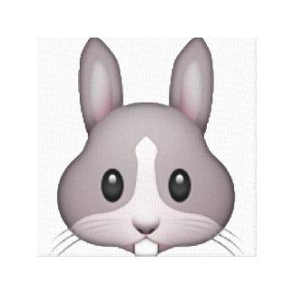 Lienzo Conejito - Emoji