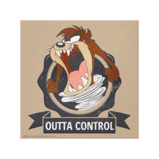 Lienzo Control de TAZ™ Outta