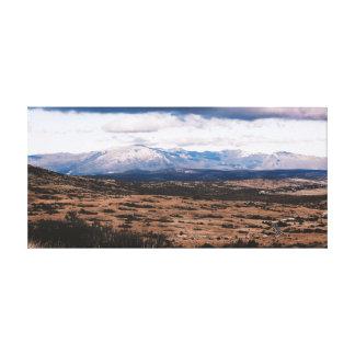 Lienzo Cordillera
