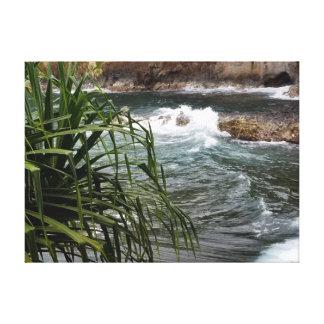 Lienzo Corriente de precipitación de Hawiian