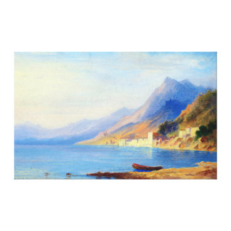 Lienzo Costa costa meridional de Carl Morgenstern